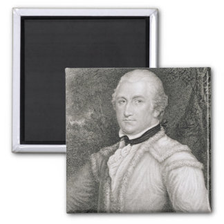 Brigadier General Daniel Morgan (1736-1802) engrav 2 Inch Square Magnet