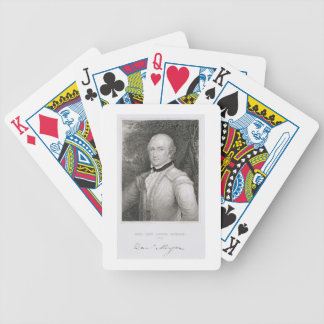 Brigadier General Daniel Morgan (1736-1802) engrav Bicycle Playing Cards