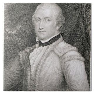 Brigadier General Daniel Morgan (1736-1802) engrav Ceramic Tile