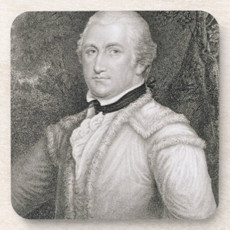 Brigadier General Daniel Morgan (1736-1802) engrav Drink Coaster