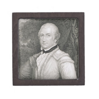 Brigadier General Daniel Morgan (1736-1802) engrav Gift Box