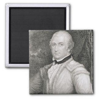 Brigadier General Daniel Morgan (1736-1802) engrav Magnet