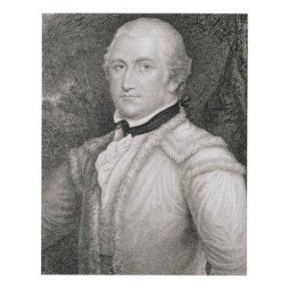 Brigadier General Daniel Morgan (1736-1802) engrav Panel Wall Art