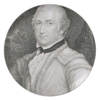 Brigadier General Daniel Morgan (1736-1802) engrav Plate