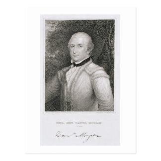 Brigadier General Daniel Morgan (1736-1802) engrav Postcard