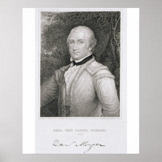 Brigadier General Daniel Morgan (1736-1802) engrav Poster