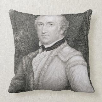 Brigadier General Daniel Morgan (1736-1802) engrav Throw Pillow
