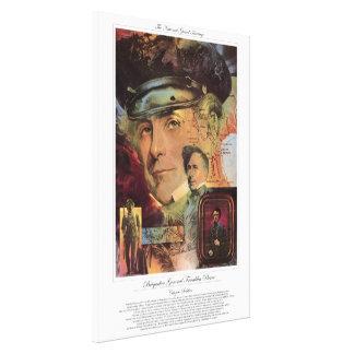 BRIGADIER GENERAL FRANKLIN PIERCE Citizen Soldier Canvas Print