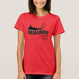 Brigadoon Cast Ladies T-shirt