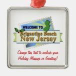 Brigantine Beach NJ Christmas Ornaments