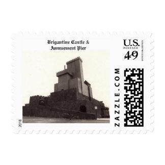 Brigantine Castle Postage Stamps
