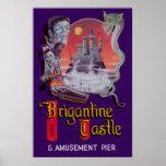 Brigantine Castle Poster