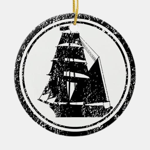 Brigantine Christmas Ornament