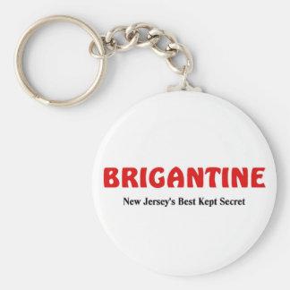 Brigantine, New Jersey Keychain