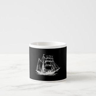 Brigantine Sailing Ship Espresso Cup