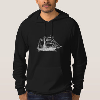 Brigantine Sailing Ship Hoody