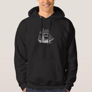 Brigantine Sailing Ship Pullover