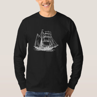 Brigantine Sailing Ship T-Shirt