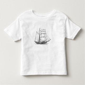 Brigantine Sailing Ship Toddler T-shirt