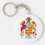 Briggs Family Crest Key Chains