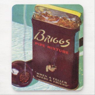 Briggs pipe mixture pipe tobacco mouse pad