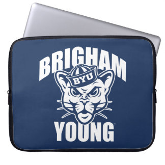 Brigham Young Cougar Laptop Sleeve