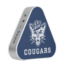 Brigham Young Cougar | Polka Dot Pattern Bluetooth Speaker