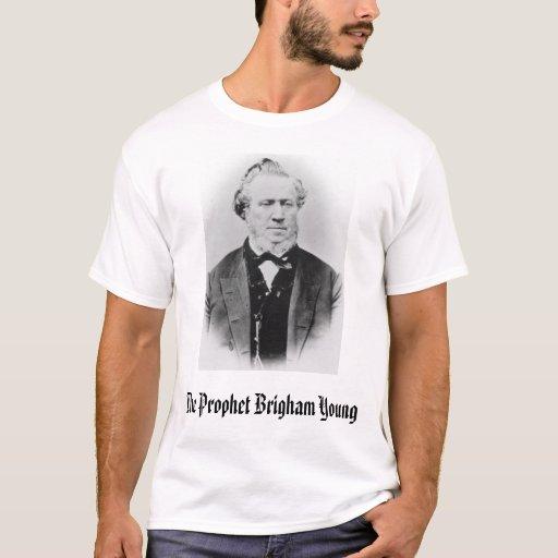 Brigham Young, el profeta Brigham Young Playera