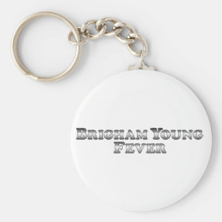 Brigham Young Fever - Basic Keychain
