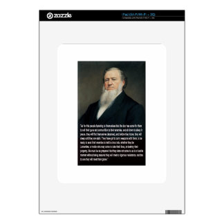 Brigham Young on Guns Decal For iPad