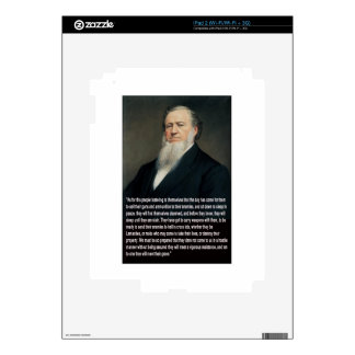 Brigham Young on Guns iPad 2 Decal