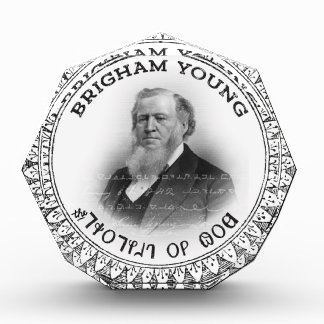 Brigham Young Prophet of God Collector Edition! Acrylic Award