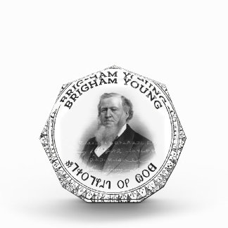 Brigham Young Prophet of God Collector Edition! Award