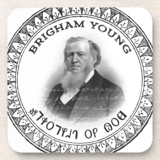 Brigham Young Prophet of God Collector Edition! Beverage Coaster