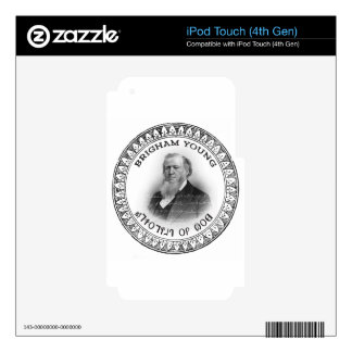 Brigham Young Prophet of God Collector Edition! iPod Touch 4G Skin