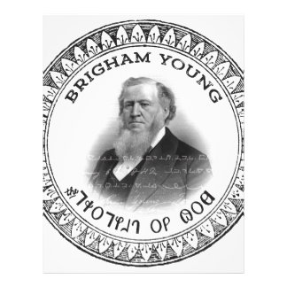 Brigham Young Prophet of God Collector Edition! Letterhead