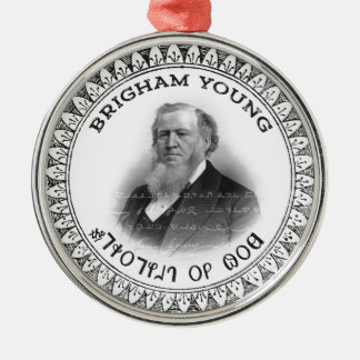 Brigham Young Prophet of God Collector Edition! Metal Ornament
