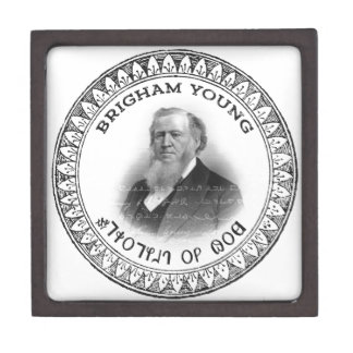 Brigham Young Prophet of God Collector Edition! Premium Trinket Boxes