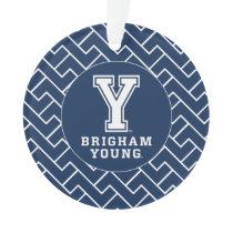 Brigham Young Y | Fret Pattern Ornament