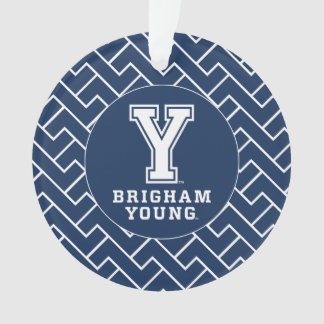 Brigham Young Y | Fret Pattern Ornament