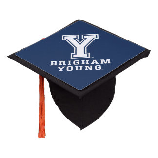 Brigham Young Y Graduation Cap Topper