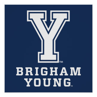 Brigham Young Y Poster