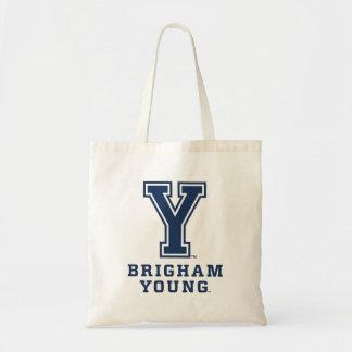 Brigham Young Y Tote Bag