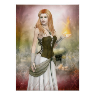 Brighid Poster Canvas Print