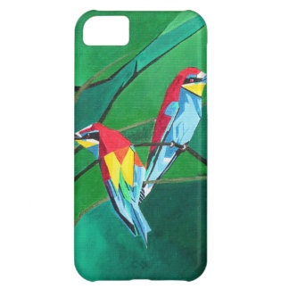 Brighly Colored European Bee-eaters Case For iPhone 5C