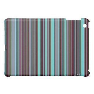 Bright 60s Retro Stripes iPad Mini Cover