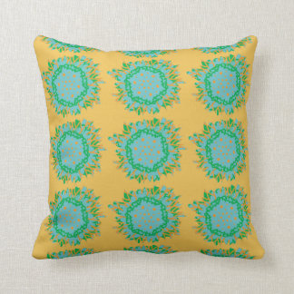 Bright Abstract Flower Cushion Pillow