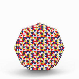 Bright Abstract Geometry Pattern Illustration Award