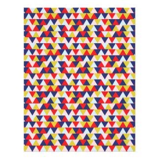 Bright Abstract Geometry Pattern Illustration Letterhead