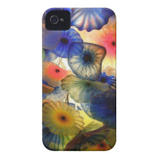 Bright Abstract Jelly Fish iPhone 4 Cover